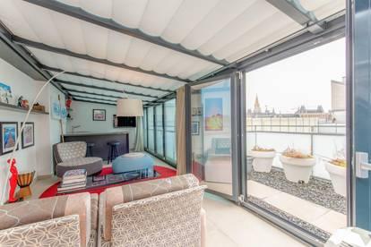 Atemberaubendes Penthouse in Bestlage mit Blick auf Rathaus