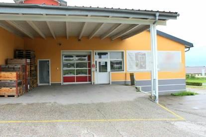 5141 Moosdorf: Teilbar !! Werbegünstig gelegene ca. 487 m² Produktions -/Werkstätten- u. Bürofläche + optional ca. 200 m² Lagerfläche im DG