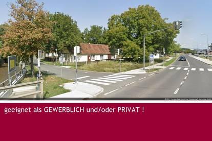 2060 m² Eck-Grundstück mit einem Bestandshaus GEWERBLICH und/oder PRIVAT