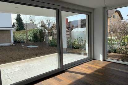 Traumhafte 3-Zimmer-Neubau-Gartenwohnung in Hard