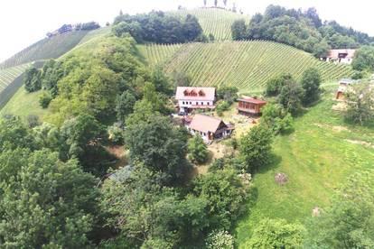 Für Ruhesuchende und Naturfreunde - Idylle pur mitten im südsteirischen Weinland