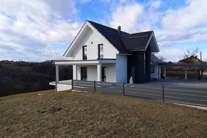 Besichtigen Sie Ihr neues, exklusives ausgestattetes Traumhaus mit wunderschönem Fernblick! In Sentilj NUR 10 Minuten von Spielfeld entfernt!