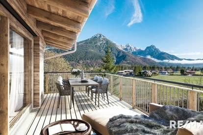 Chalet mit großzügigen Terrassenflächen