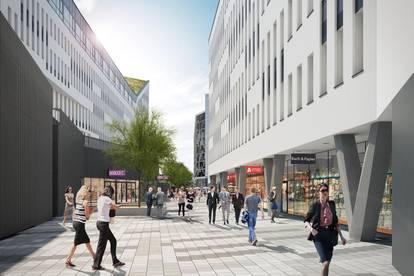 Neue, wirtschaftlich effiziente Büroflächen nahe Stadtzentrum