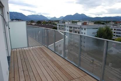 Penthouse-2-Zi-Whg. 6.OG mit herrl. SW-Blick im Zentrum von Salzburg mit Lift und TG