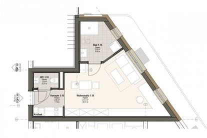 Neues Wohnstudio ca. 30 m² in Feldkirchen zu kaufen - Erstbezug!