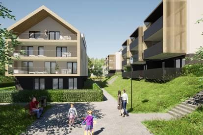 Wunderschöne, neue Seeblick-Eigentumswohnung am Klopeiner See mit ca. 70 m² Wohnfläche, TOP 6, 1. OG