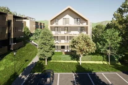 Kompakte, neue Gartenwohnung am Klopeiner See mit ca. 36 m² Wohnfläche, Terrasse und Eigengarten, TOP 4, EG