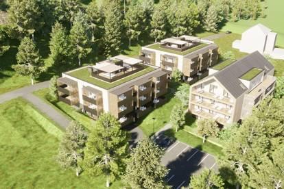 Großzügige, neue Seeblick-Eigentumswohnung am Klopeiner See mit ca. 91 m² Wohnfläche, TOP 11, 2. OG