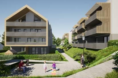 Wunderschöne, neue Gartenwohnung am Klopeiner See mit ca. 63 m² Wohnfläche, Terrasse und Eigengarten, TOP 1, EG