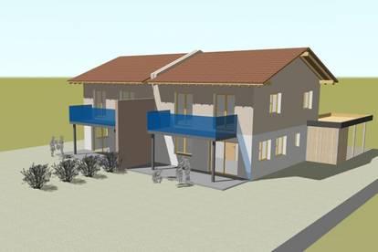 Sonnige, geräumige Doppelhaus-Hälfte mit ca. 120 m² Wohnfläche, ca. 450 m² Grund und Carport