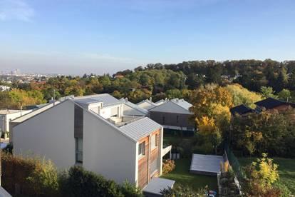 Absolute Grünruhelage mit Blick über Wien