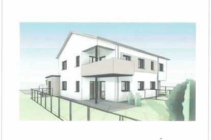 Neubauprojekt! Exklusiv - nur 3 Wohneinheiten! 4-Zimmer Maisonettwohnung mit großem Eigengarten!