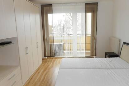 Modern ausgestattete Singlewohnung mit Balkon in Wetzelsdorf!
