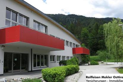 Büroflächen und Wohnung in Leisach