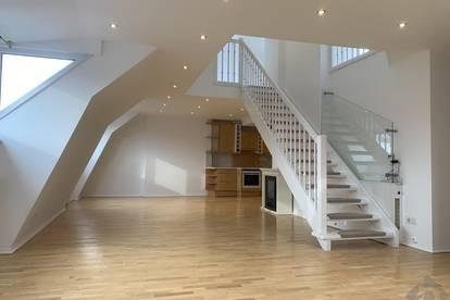 Gut vermietete Wohnung im Andräviertel: Sonnige Dachterrassenwohnung mit Galerie als Investment