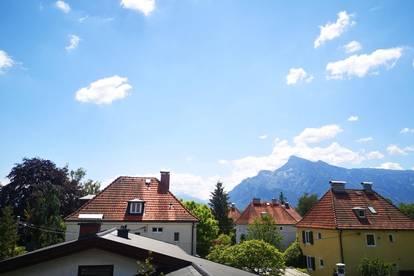 3-Zi. Dachgeschosswohnung mit sonnigem Balkon - nur wenige Meter vom Leopoldskroner Weiher entfernt!
