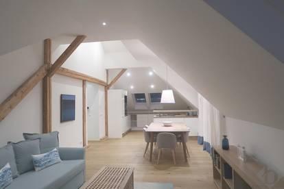 Dachgeschoßwohnung mit Loftcharakter - URBAN und ZENTRAL wohnen in ITZLING