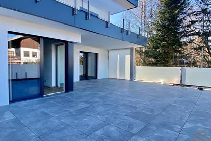 Elegante 3-Zimmerwohnung mit 72 qm großer Terrasse & atemberaubendem Mondseeblick
