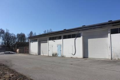 Lagerhalle mit ebenerdigem Rolltor nähe Flughafen, Anschlusstelle Klagenfurt Nord und S37