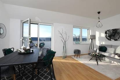 MIEKTKAUF! Kompakte Dachgeschosswohnung mit grandioser Terrasse - Anningerblick