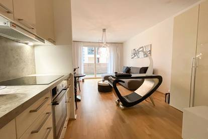 Wohnung mit Terrasse, neuer Küche und hauseigenem Fitnessraum im 2. Bezirk!