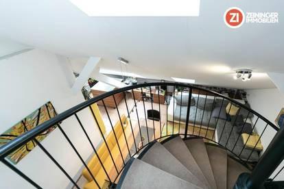 Charmante Maisonette-Wohnung im Zentrum von Linz