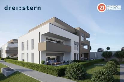Drei:stern - Neubau 3 ZI-Gartenwohnung in Engerwitzdorf