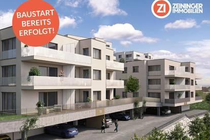 !Baustart bereits erfolgt! Frischluft - 4-Zimmer-Penthousewohnung über den Dächern von Linz