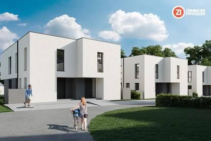 FLORA - Luxus im Grünen / Doppelhaushälfte mit Garten und TG - Parkplatz