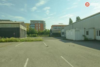 ca. 1660m² Lagerhallen/Kaltlager mit ca. 3300m² Freiflächen - zentrumsnahe