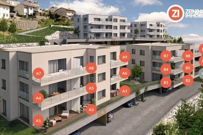 Frischluft - 4-Zimmer-Gartenwohnung über den Dächern von Linz