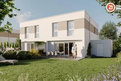 IM BIRNFELD - ENNS - Doppelhaushälfte / schlüsselfertig inkl. Vollkeller, Garage und Grundstück