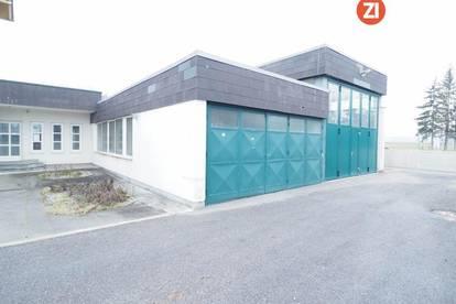 Lager- und Garagenfläche inkl. Büro und Sanitäranlagen