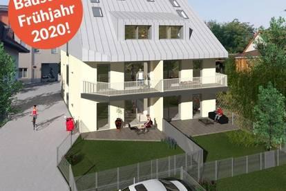 Penthouse mit Eigengarten - grün und stadtnah