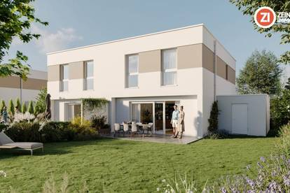 IM BIRNFELD - geförderte Doppelhaushältfe / schlüsselfertig inkl. Vollkeller, Garage und Grundstück