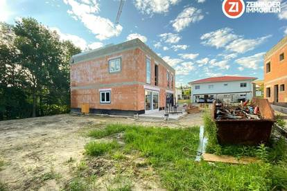 Vollunterkellerte, geförderte Doppelhaushälfte in Strassham - Baulos 3