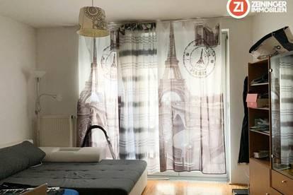 Großartige 1-Zimmer Wohnung mit schönem Balkon