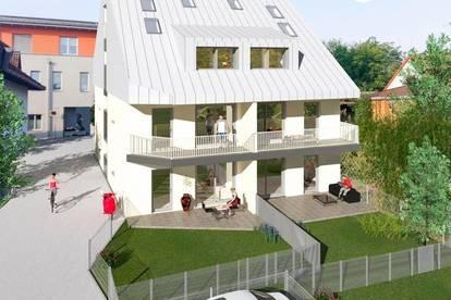 Penthouse mit Eigengarten - Wohnen auf 2 Ebenen