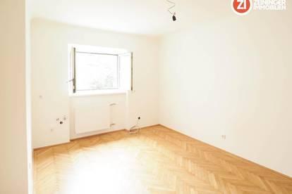 NEU SANIERT / Kleine Feine 1 ZI-Wohnung mit Küche in Urfahr - unbefristetes Mietverhältnis