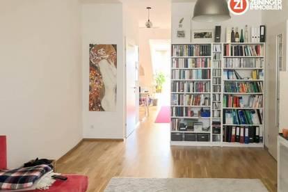 Helle 2 Zimmerwohnung mit Balkon und Küche -  Linzer Zentrumslage