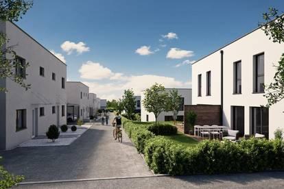 Vollunterkellerte - Geförderte Doppelhaushälfte in Strassham (Baulos 4)