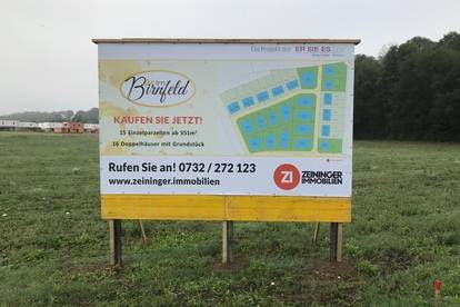"""Baugrundstücke """"Im Birnfeld"""" Enns-Hiesendorf - nur noch 1 frei"""