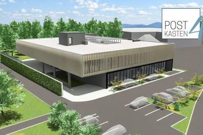 Neues Geschäfts- und Bürogebäude - Nähe Plus City