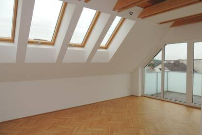 Helle großräumige Dachgeschoss-Wohnung mit Terrasse - Enns Hauptplatz