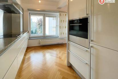 LUXUS IM ZENTRUM - 4,5 Zimmerwohnung inkl. Küche und Dachterrasse