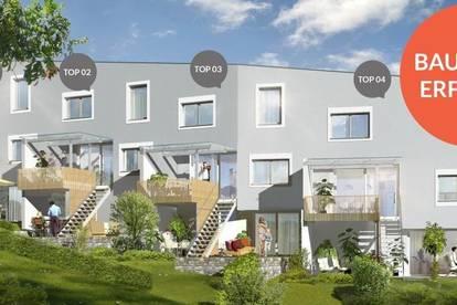 BAUSTART ERFOLGT - Gefördertes Eckreihenhaus im historischen Reichenau