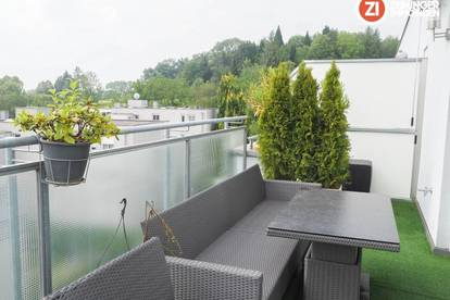 Ideale 3- Zimmer Wohnung inkl. DAN Küche und hochwertigen Möbeln mit Terrasse - Froschberg!