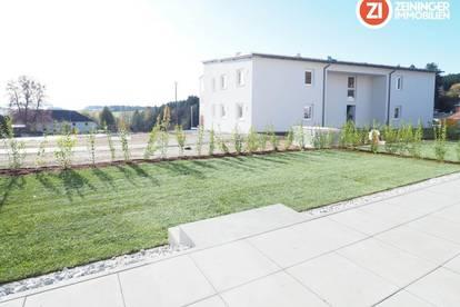 Eigentum im Grünen mit Garten- Erstbezug! I Geförderte Loggiawohnung - PROVISIONSFREI