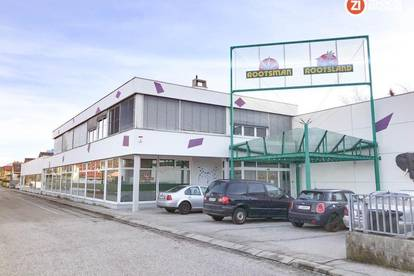 Gewerbehalle mit Parkplatzfläche in guter Welser Lage - ca. 1650m²